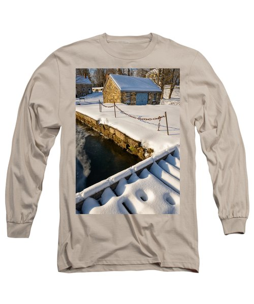 Morning Snow Long Sleeve T-Shirt