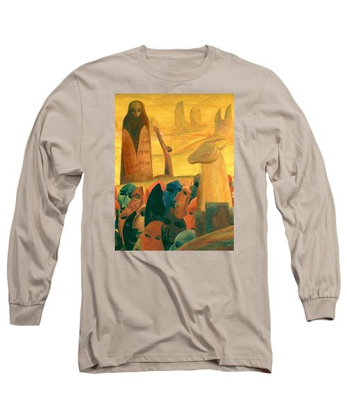 Moses And The Masks Long Sleeve T-Shirt
