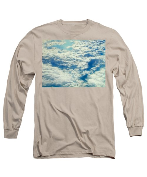 Long Sleeve T-Shirt featuring the photograph Mostly Cloudy by Mark Greenberg