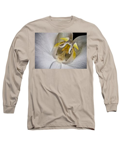 Moth Orchid Inverted Long Sleeve T-Shirt