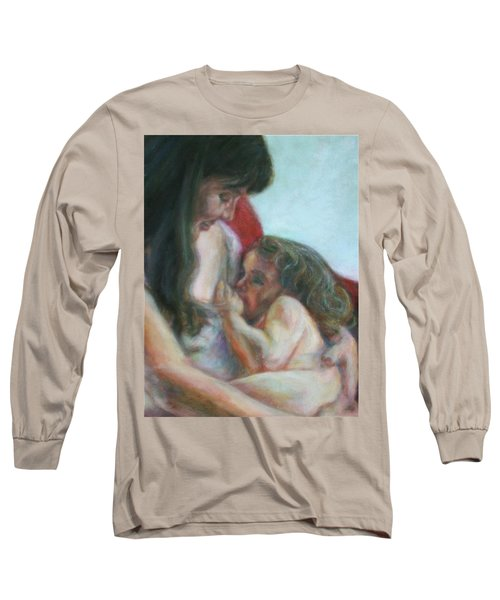 Mother And Child - Detail Long Sleeve T-Shirt