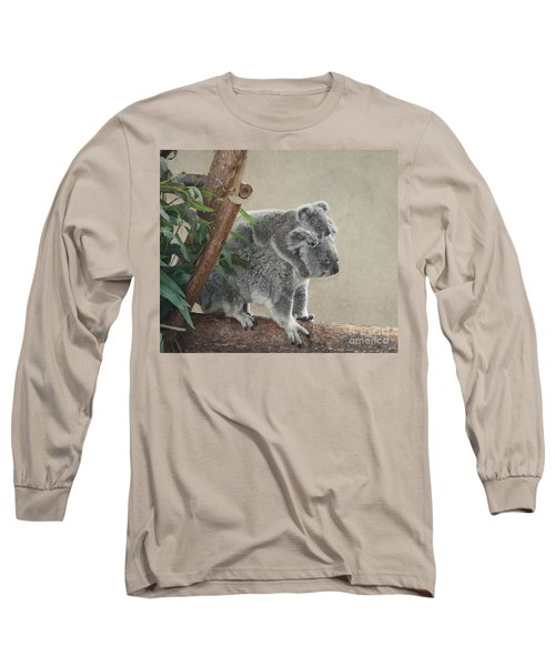 Mother And Child Koalas Long Sleeve T-Shirt
