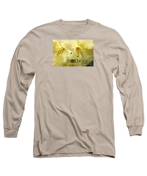 Long Sleeve T-Shirt featuring the photograph Mothers Day by Jean OKeeffe Macro Abundance Art