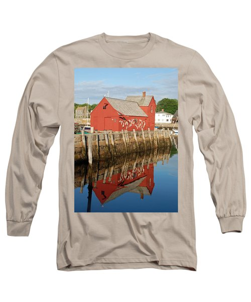 Long Sleeve T-Shirt featuring the photograph Motif 1 With Reflection by Richard Bryce and Family