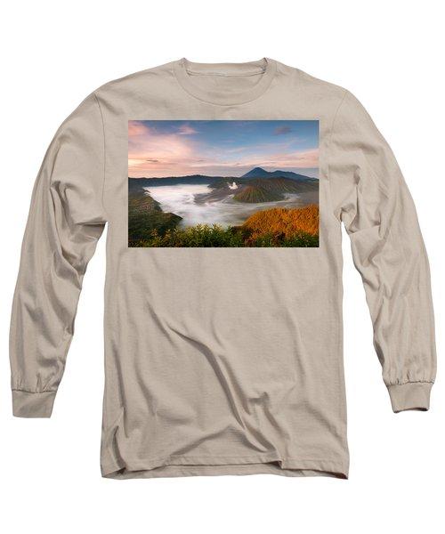 Mount Bromo Sunrise Long Sleeve T-Shirt