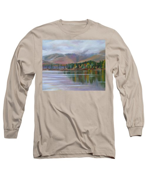 Mount Chocorua And Chocorua Lake New Hampshire Long Sleeve T-Shirt
