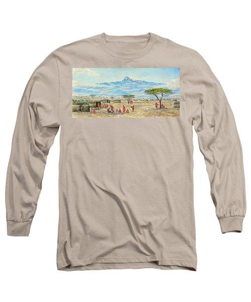 Mountain Village Long Sleeve T-Shirt