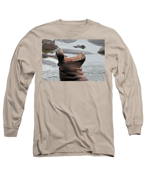 Mouth Wide Open Long Sleeve T-Shirt