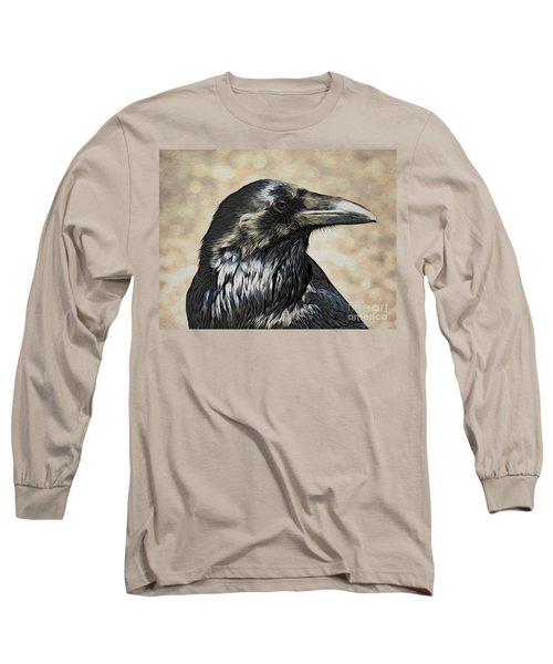 Mr. Raven Long Sleeve T-Shirt