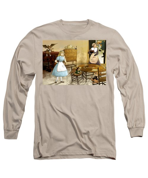 Mrs. Gage's Kitchen Long Sleeve T-Shirt by Reynold Jay