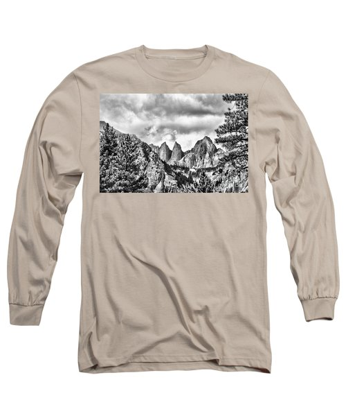 Mt. Whitney Long Sleeve T-Shirt by Peggy Hughes