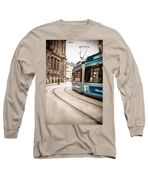 Munich City Traffic Long Sleeve T-Shirt