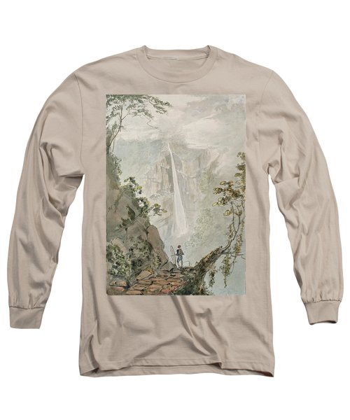 Murichom To Choka, 1783 Wc With Pen & Ink Over Graphite On Paper Long Sleeve T-Shirt