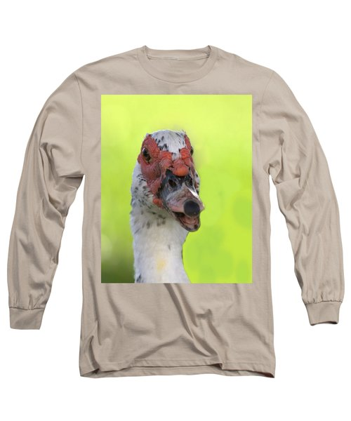 Muscovy Duck Long Sleeve T-Shirt