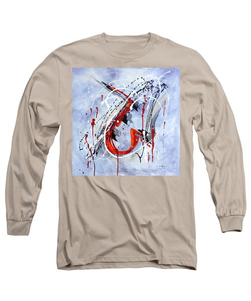 Musical Abstract 005 Long Sleeve T-Shirt