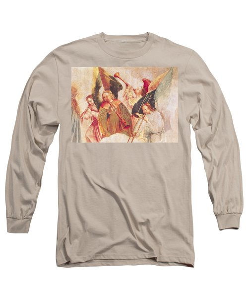 Musical Angels, Detail From The Assumption Of The Virgin Long Sleeve T-Shirt