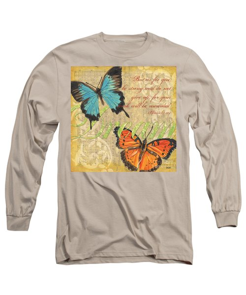 Musical Butterflies 1 Long Sleeve T-Shirt