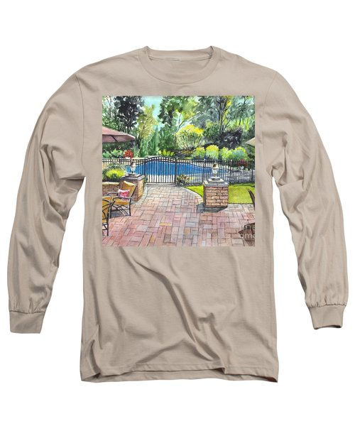 My Backyard Vacation Long Sleeve T-Shirt