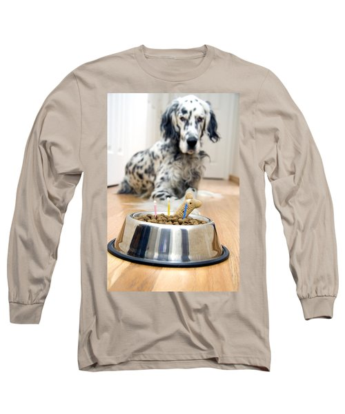 My Best Friend's Birthday Long Sleeve T-Shirt by Alexey Stiop