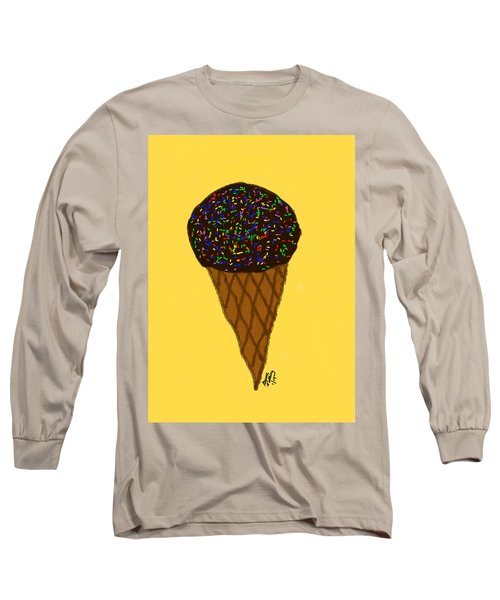 My First Ice Cream Cone Long Sleeve T-Shirt