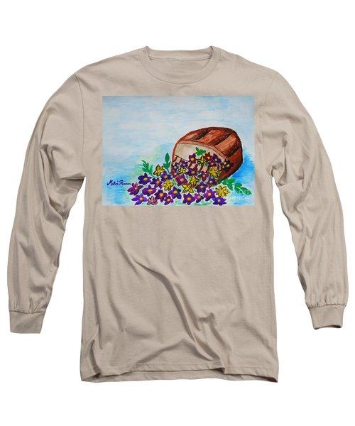 My Flower Basket Long Sleeve T-Shirt
