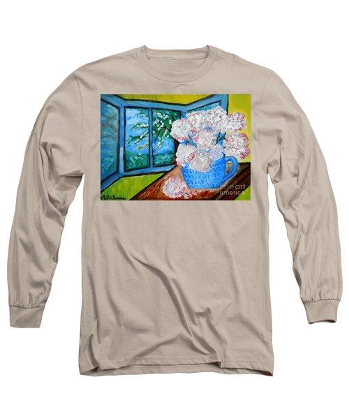 My Grandma S Flowers   Long Sleeve T-Shirt