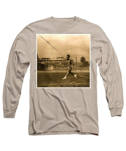 My #hero, George Porter, 1968 Long Sleeve T-Shirt