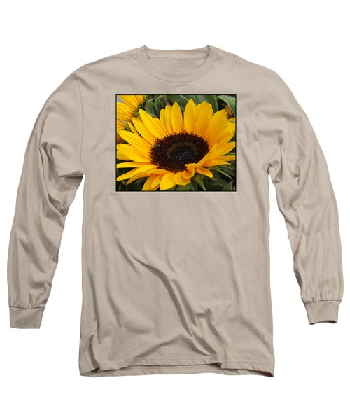 My Sunshine Long Sleeve T-Shirt by Dora Sofia Caputo Photographic Art and Design