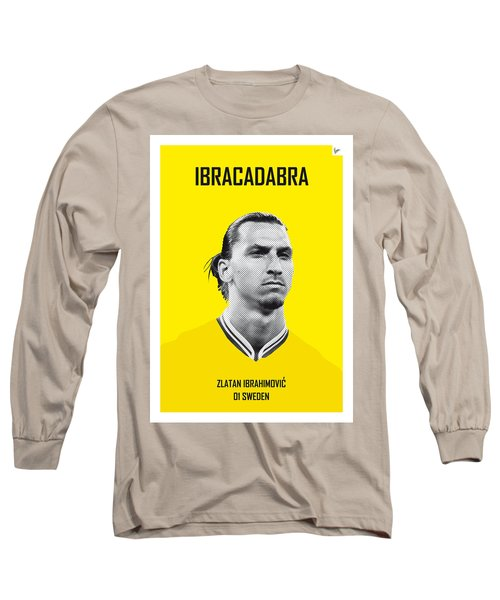 My Zlatan Soccer Legend Poster Long Sleeve T-Shirt