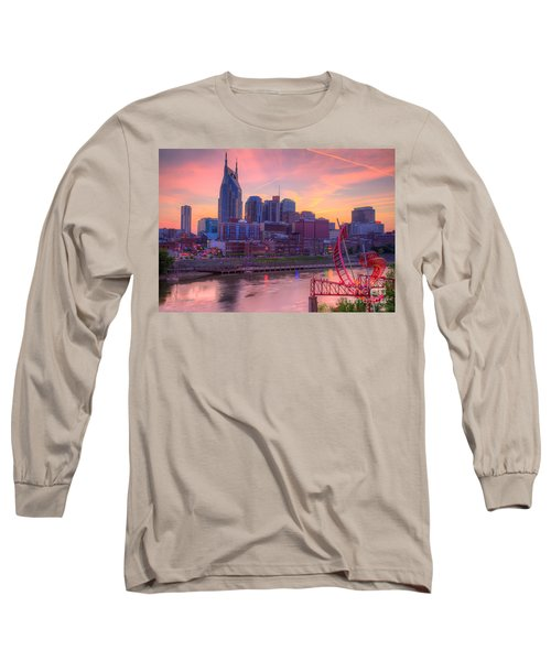 Nashville Sunset Long Sleeve T-Shirt