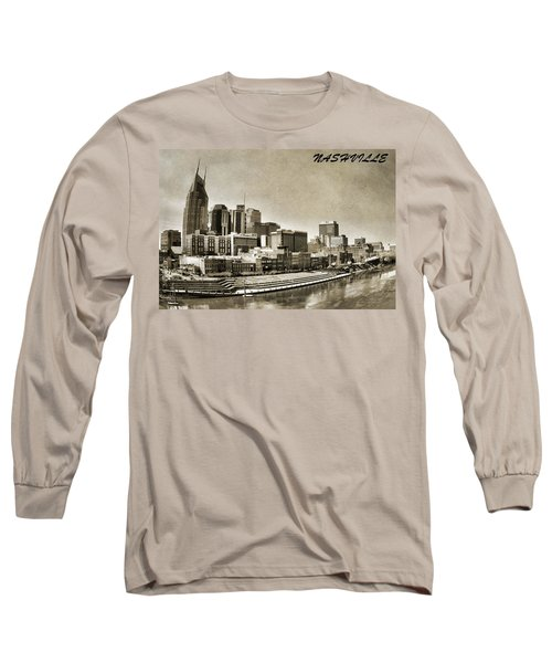 Nashville Tennessee Long Sleeve T-Shirt by Dan Sproul