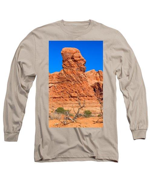 Long Sleeve T-Shirt featuring the photograph Natural Sculpture by John M Bailey