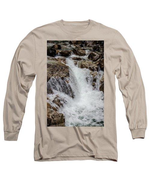Naturally Pure Waterfall Long Sleeve T-Shirt