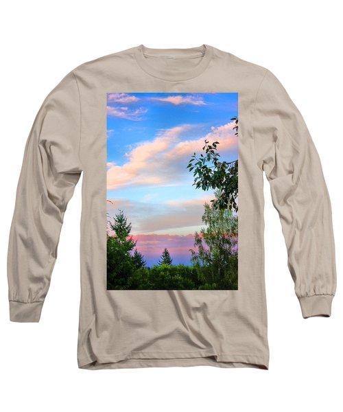 Natures Palette Long Sleeve T-Shirt by Kristin Elmquist