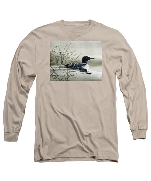Nature's Serenity Long Sleeve T-Shirt by James Williamson