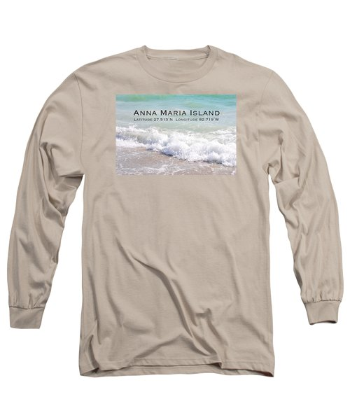 Nautical Escape To Anna Maria Island Long Sleeve T-Shirt