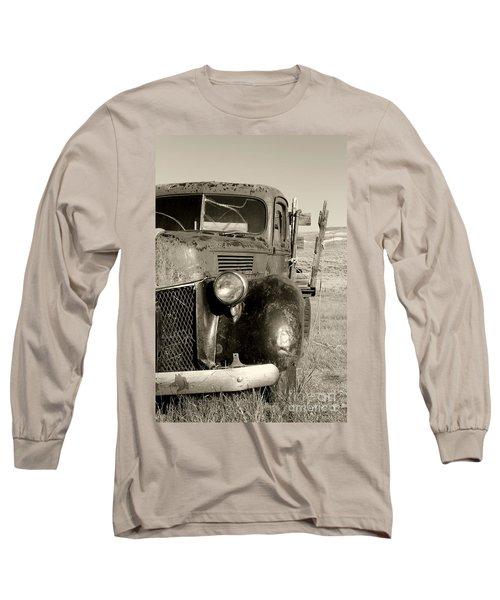 Needs Gas By Diana Sainz Long Sleeve T-Shirt