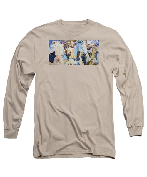 Neptune's Sea Horses - Florence Long Sleeve T-Shirt