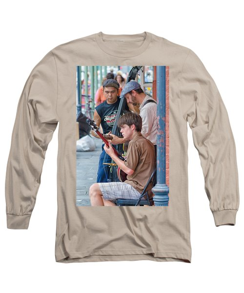 New Orleans Street Trio Long Sleeve T-Shirt