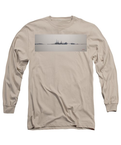 New York City 2013 Skyline 20x60 Long Sleeve T-Shirt