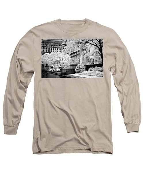 New York Public Library Ir Long Sleeve T-Shirt
