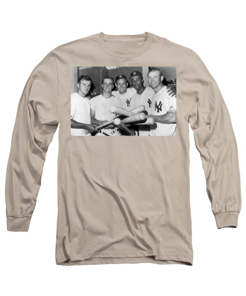 New York Yankee Sluggers Long Sleeve T-Shirt