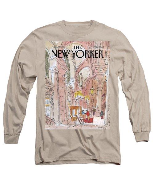 New Yorker April 28th, 1986 Long Sleeve T-Shirt
