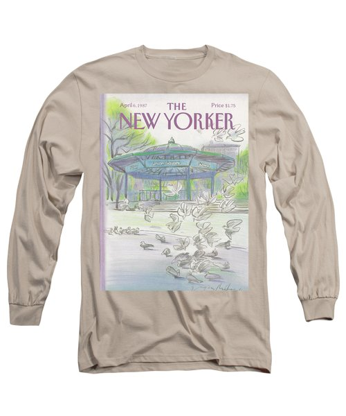 New Yorker April 6th, 1987 Long Sleeve T-Shirt