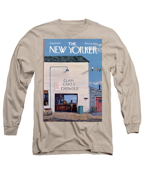 New Yorker August 16th, 1969 Long Sleeve T-Shirt