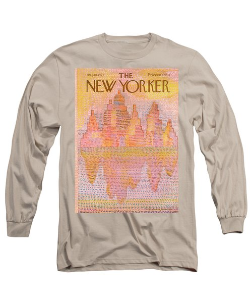 New Yorker August 18th, 1975 Long Sleeve T-Shirt