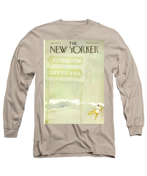 New Yorker August 23rd, 1976 Long Sleeve T-Shirt