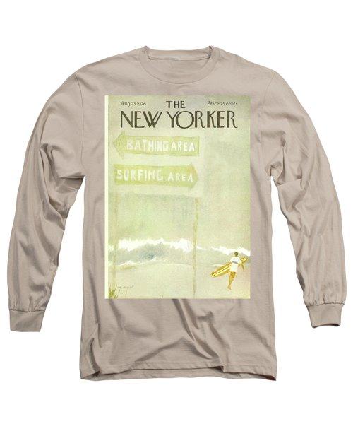 New Yorker August 23rd, 1976 Long Sleeve T-Shirt