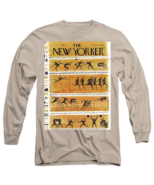 New Yorker August 27th, 1960 Long Sleeve T-Shirt