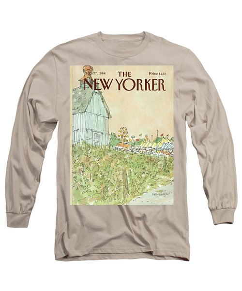 New Yorker August 27th, 1984 Long Sleeve T-Shirt